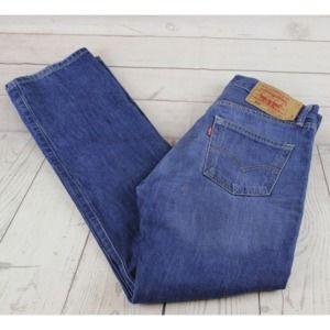 Levi's 501 30x32 Denim Jeans Mens Button Fly